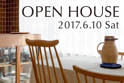 6/10 (sat)  オープンハウスのお知らせ
