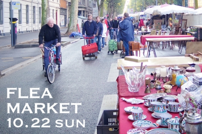10/22 (sun) FLEA MARKET -at KURAKUEN-