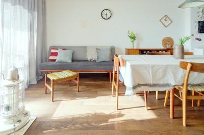 北欧のヴィンテージ家具を素敵に魅せる家