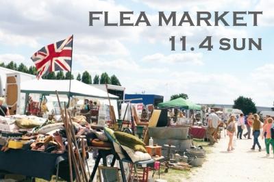 11/4 (sun)  FLEA MARKET -at KURAKUEN-