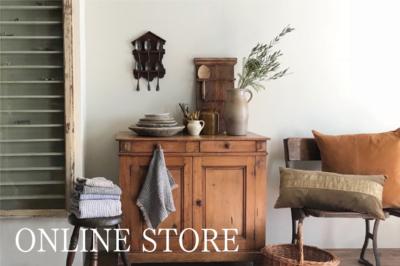 海外買付の家具やリネン、パーツや建材をご紹介しています。