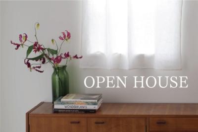 9/26(sun) オープンハウスのお知らせ / OSAKA